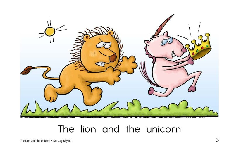 Book Preview For The Lion and the Unicorn Page 3