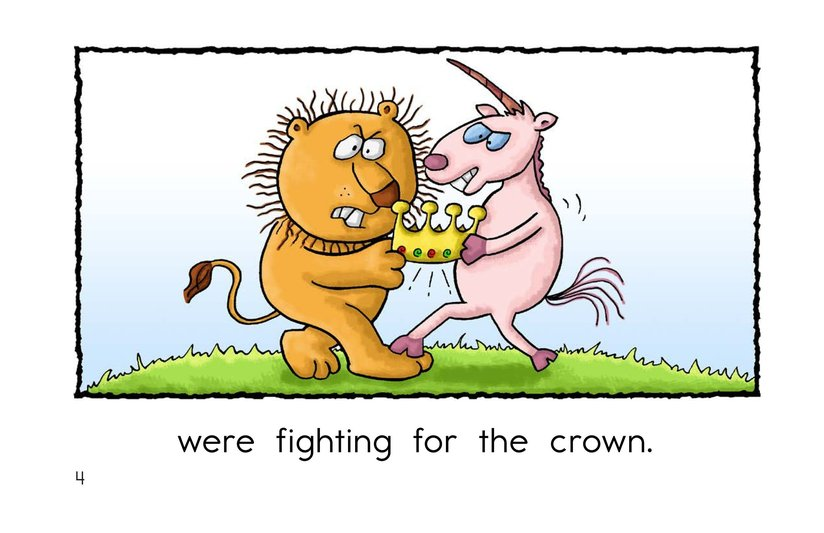 Book Preview For The Lion and the Unicorn Page 4