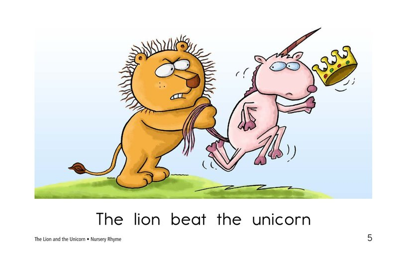 Book Preview For The Lion and the Unicorn Page 5