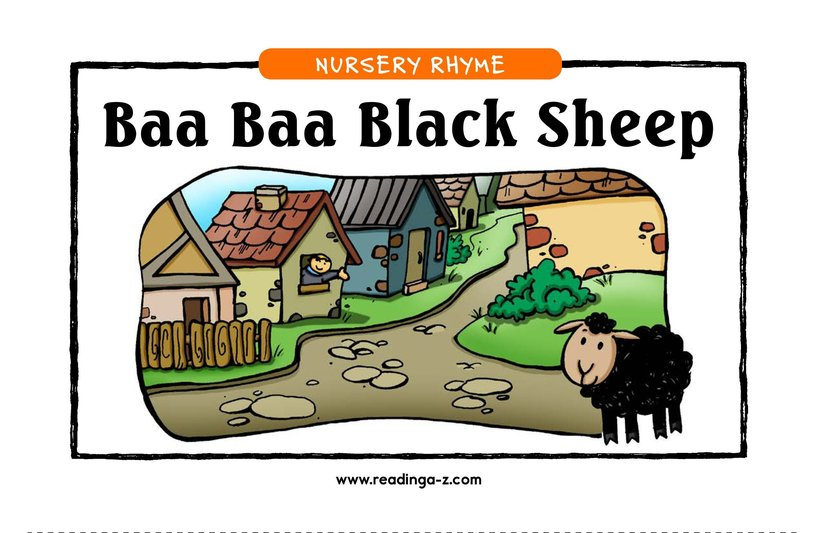 Book Preview For Baa Baa Black Sheep Page 1