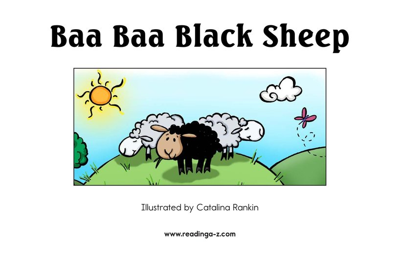 Book Preview For Baa Baa Black Sheep Page 2