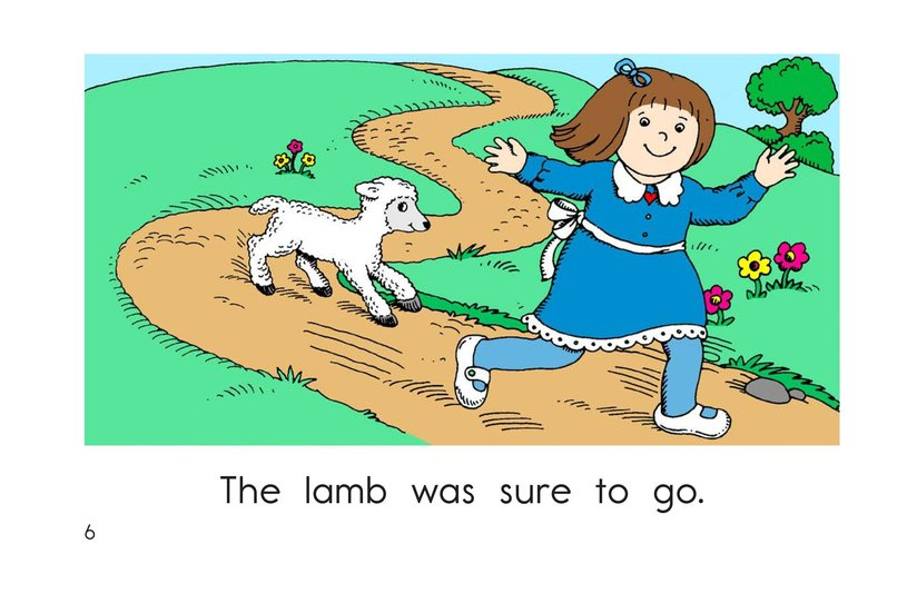 Book Preview For Mary Had a Little Lamb Page 6