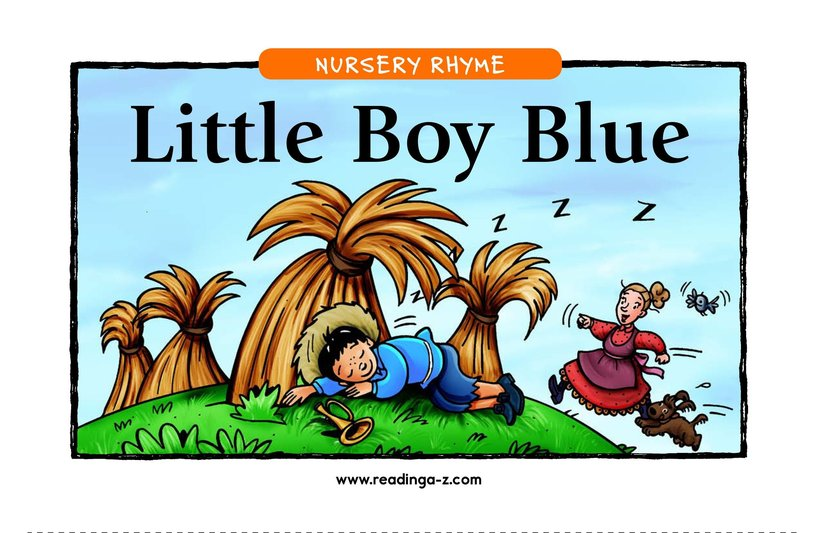 Book Preview For Little Boy Blue Page 1
