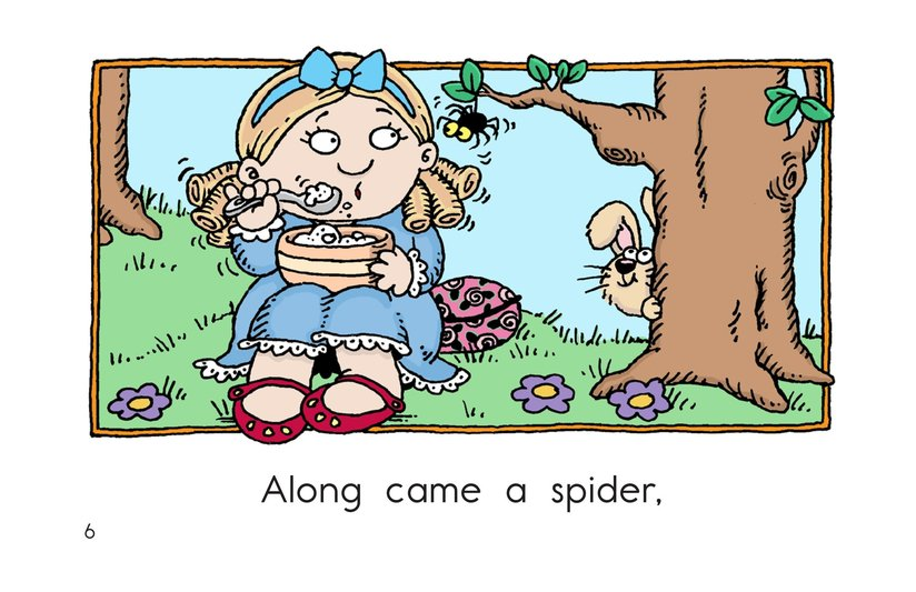 Book Preview For Little Miss Muffet Page 6