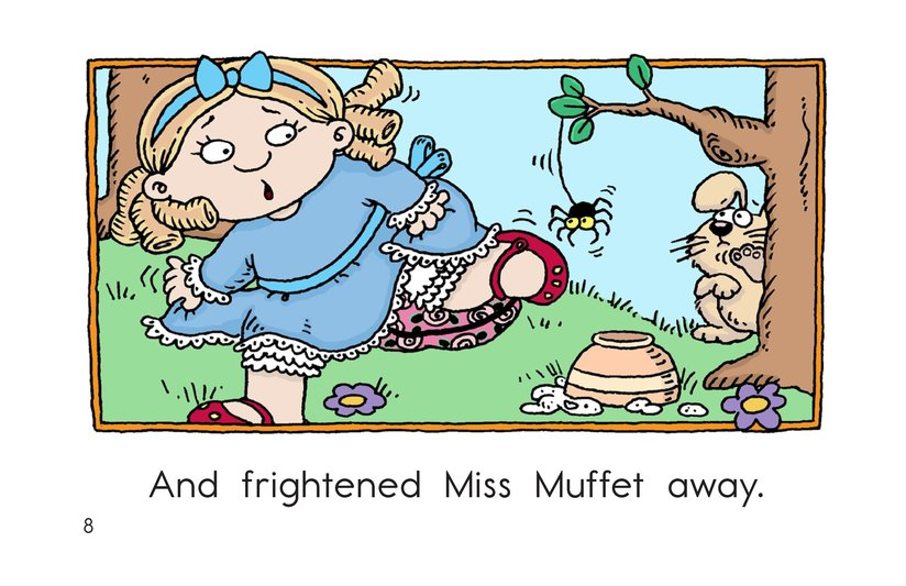 Book Preview For Little Miss Muffet Page 8