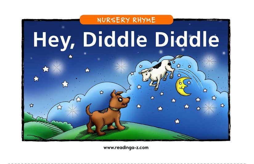 Book Preview For Hey, Diddle Diddle Page 1