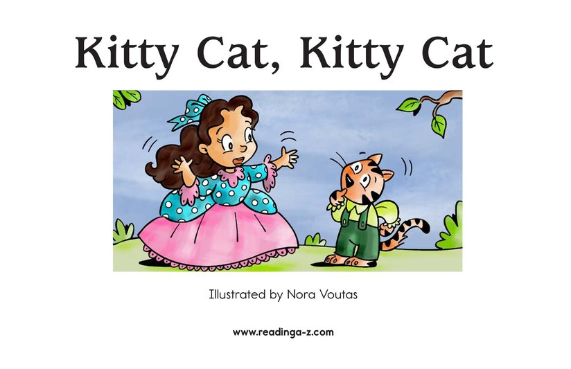 Book Preview For Kitty Cat, Kitty Cat Page 2