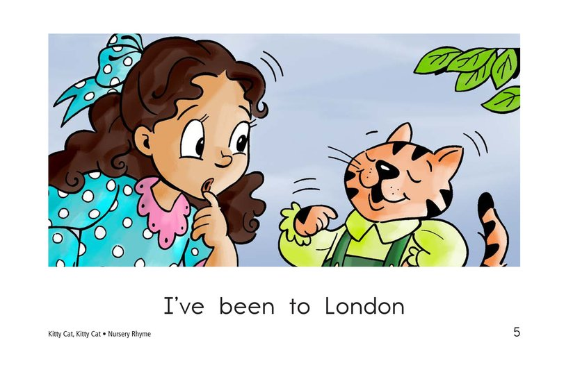 Book Preview For Kitty Cat, Kitty Cat Page 5