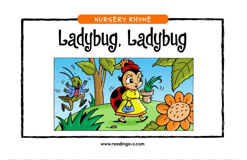 Book Preview For Ladybug, Ladybug Page 1