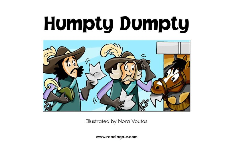 Book Preview For Humpty Dumpty Page 2