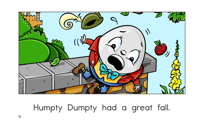 Book Preview For Humpty Dumpty Page 4