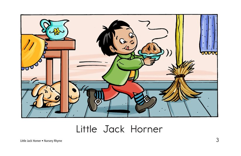 Book Preview For Little Jack Horner Page 3