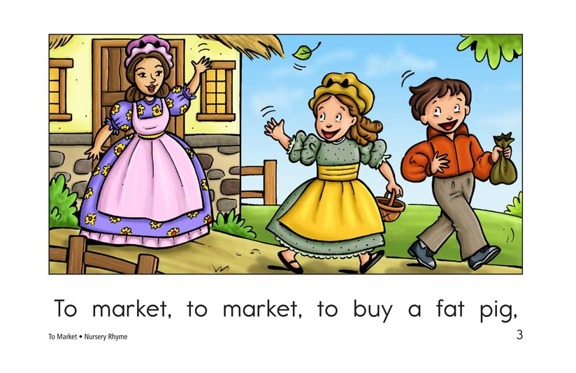 Book Preview For To Market Page 3