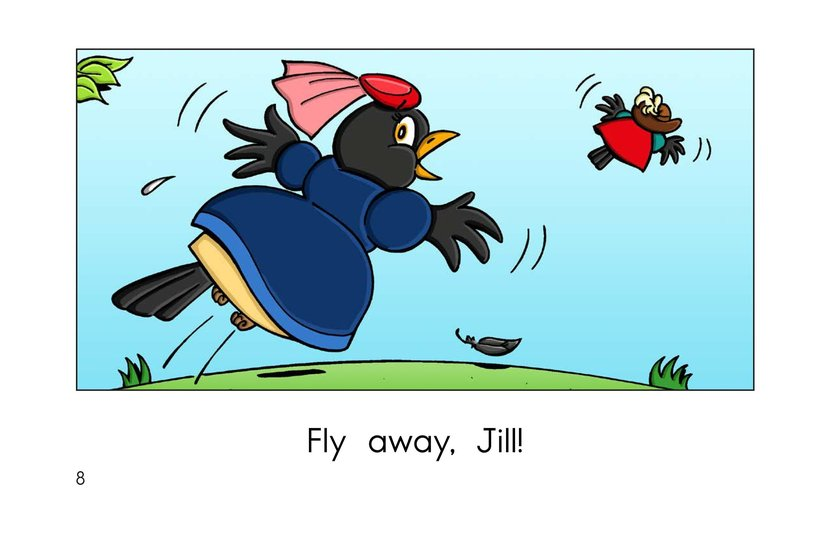 Book Preview For Two Blackbirds Page 8