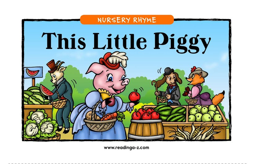 Book Preview For This Little Piggy Page 1