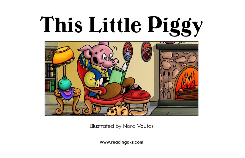 Book Preview For This Little Piggy Page 2
