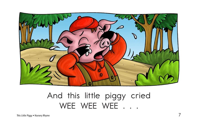 Book Preview For This Little Piggy Page 7