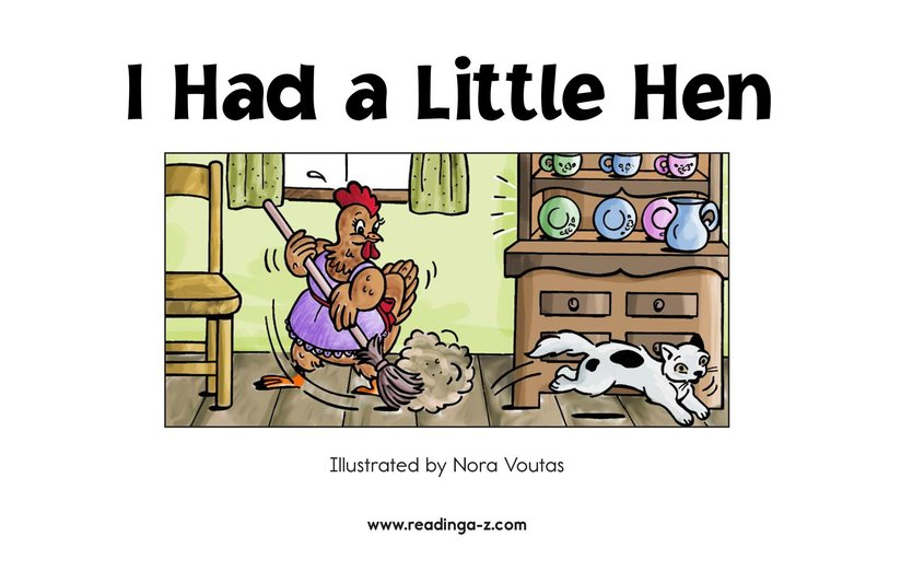 Book Preview For I Had a Little Hen Page 2