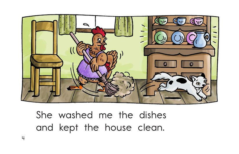 Book Preview For I Had a Little Hen Page 4