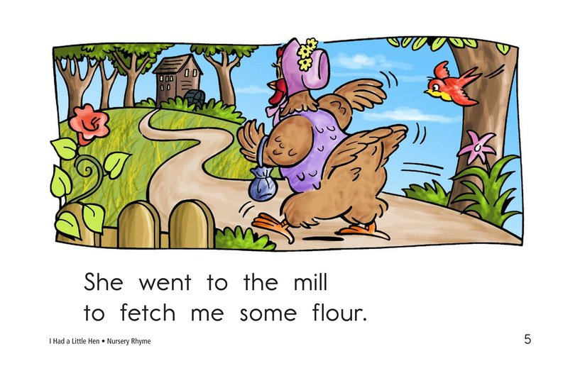 Book Preview For I Had a Little Hen Page 5
