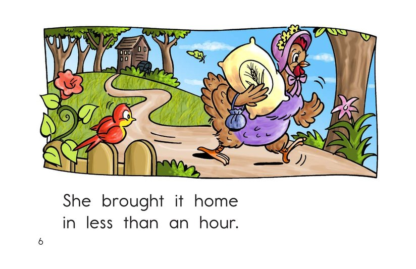 Book Preview For I Had a Little Hen Page 6