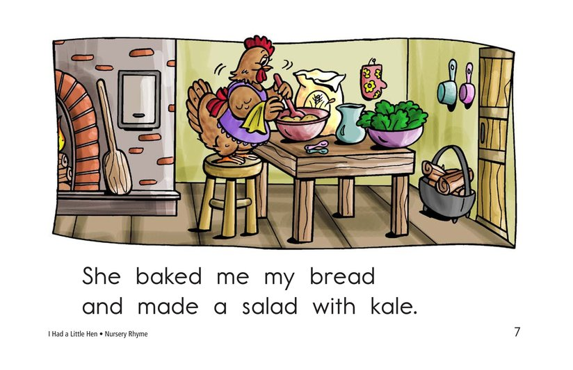 Book Preview For I Had a Little Hen Page 7