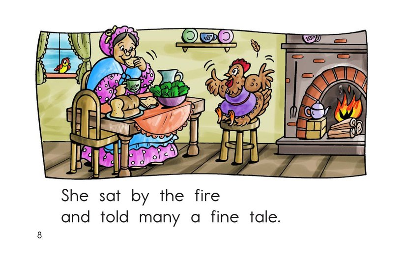 Book Preview For I Had a Little Hen Page 8