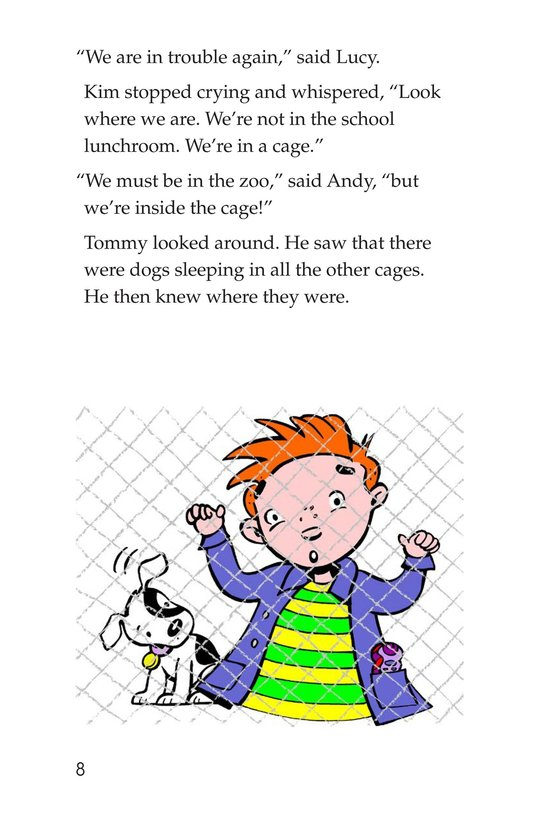 Book Preview For The Animal Shelter Page 8