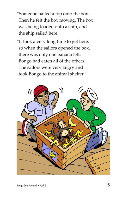 Book Preview For Bongo Gets Adopted Page 15