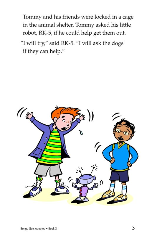 Book Preview For Bongo Gets Adopted Page 3