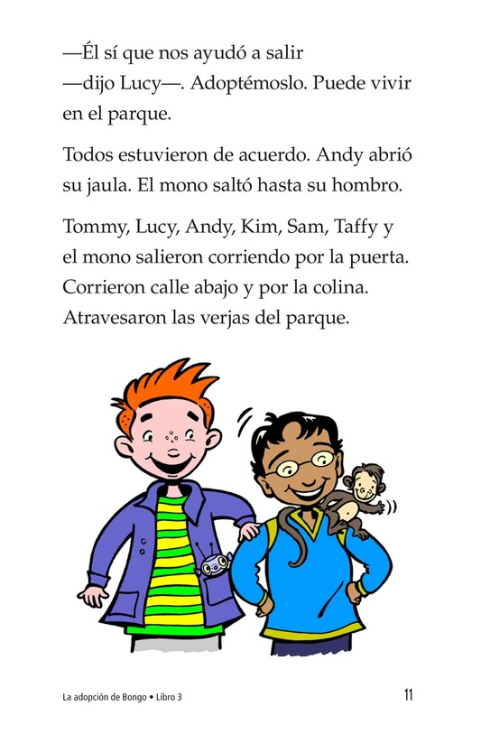 Book Preview For Bongo Gets Adopted Page 11