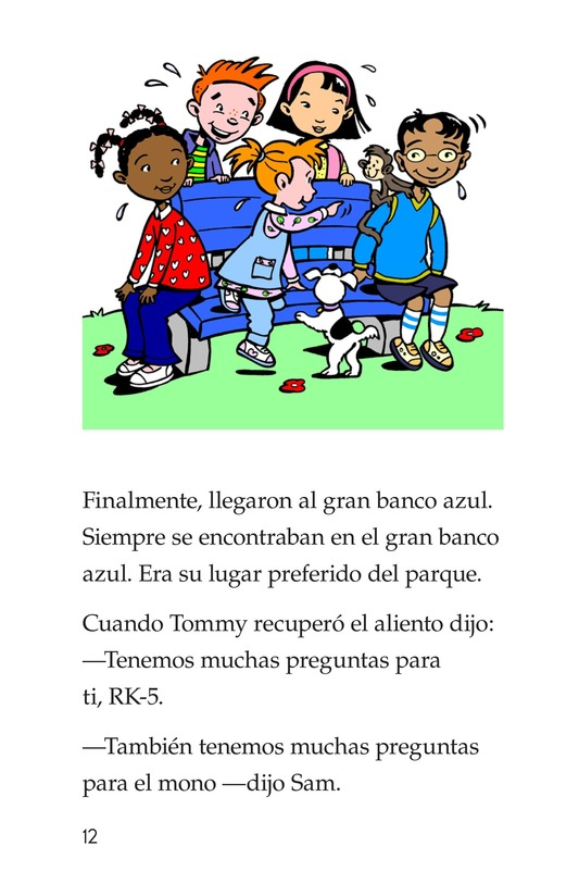 Book Preview For Bongo Gets Adopted Page 12