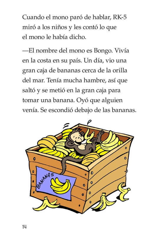 Book Preview For Bongo Gets Adopted Page 14