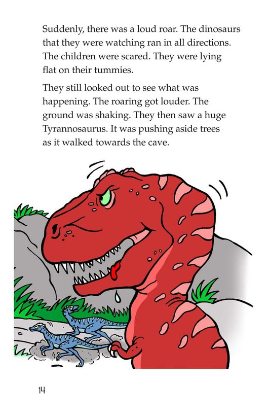 Book Preview For Tommy Meets a Dinosaur Page 14