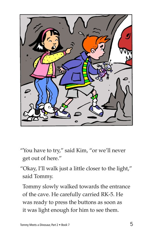Book Preview For Tommy Meets A Dinosaur (Part 2) Page 5