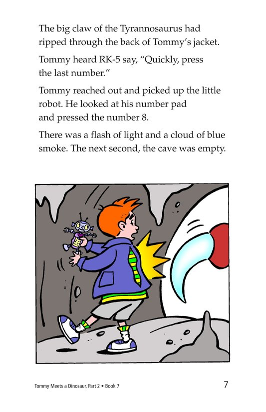 Book Preview For Tommy Meets A Dinosaur (Part 2) Page 7