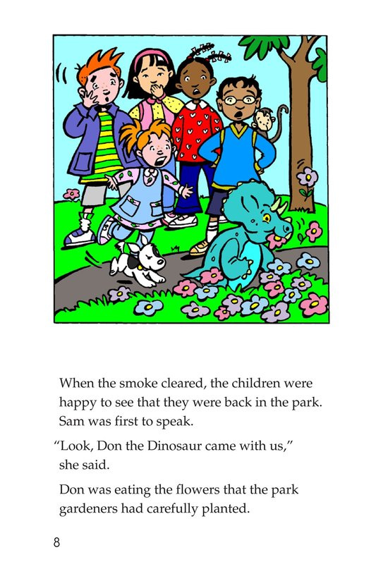 Book Preview For Tommy Meets A Dinosaur (Part 2) Page 8