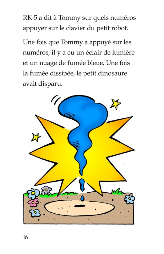 Book Preview For Tommy Meets A Dinosaur (Part 2) Page 16