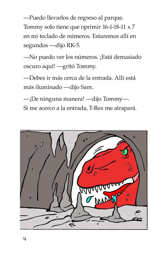Book Preview For Tommy Meets A Dinosaur (Part 2) Page 4