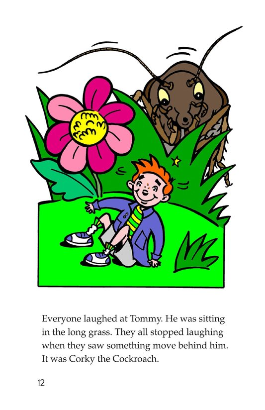 Book Preview For Tommy and the Giant Cockroach Page 12