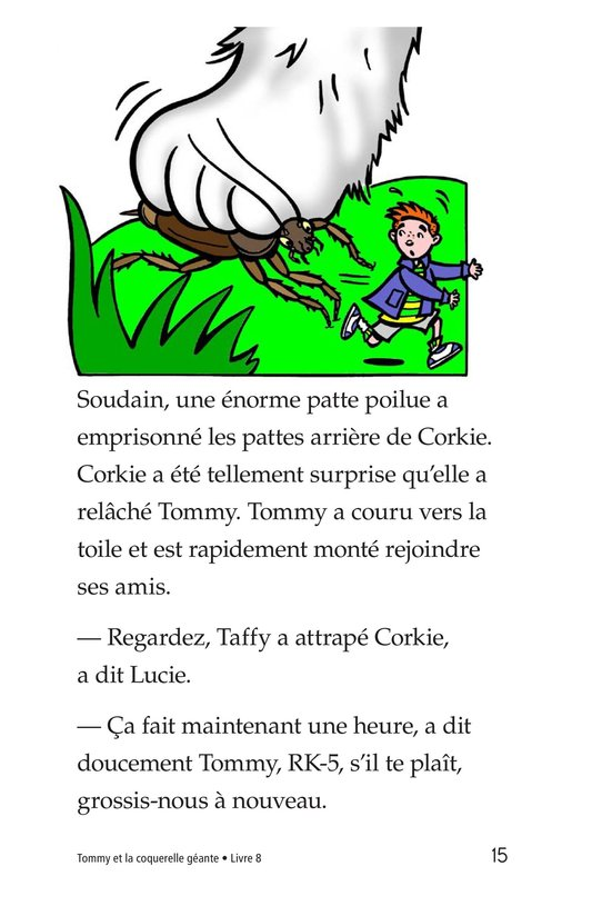 Book Preview For Tommy and the Giant Cockroach Page 15