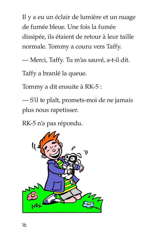 Book Preview For Tommy and the Giant Cockroach Page 16