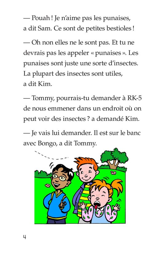 Book Preview For Tommy and the Giant Cockroach Page 4