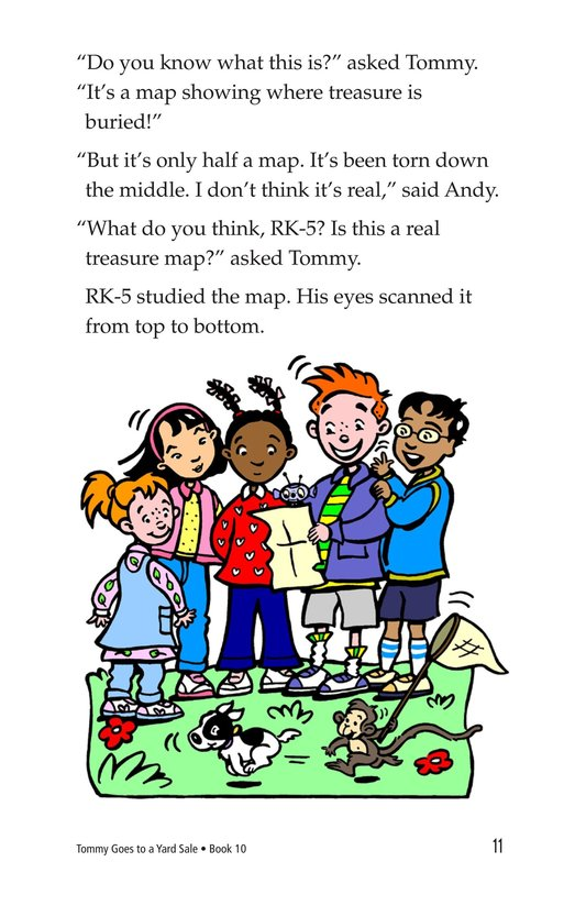 Book Preview For Tommy Goes to a Yard Sale Page 11