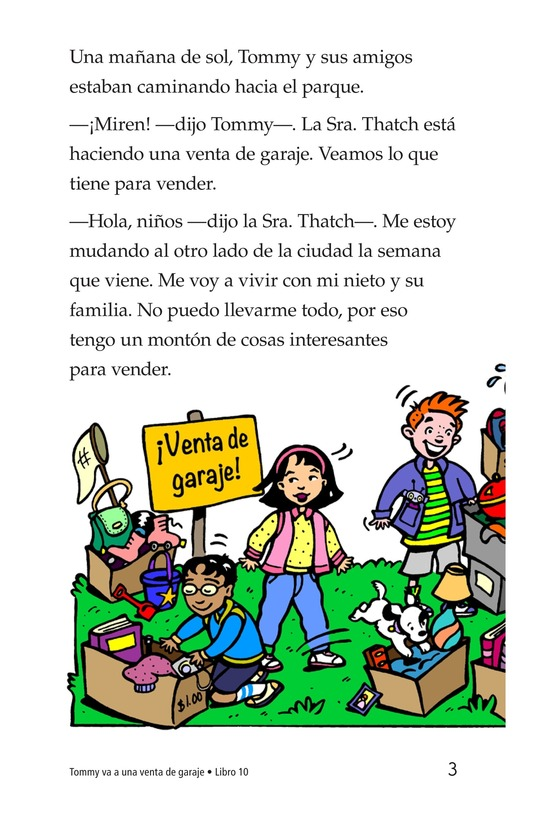 Book Preview For Tommy Goes to a Yard Sale Page 3
