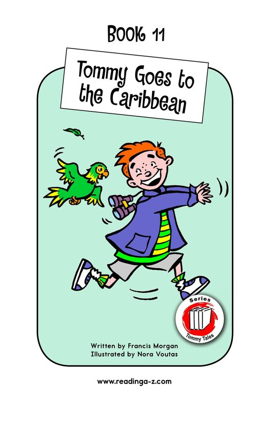 Book Preview For Tommy Goes to the Caribbean Page 1