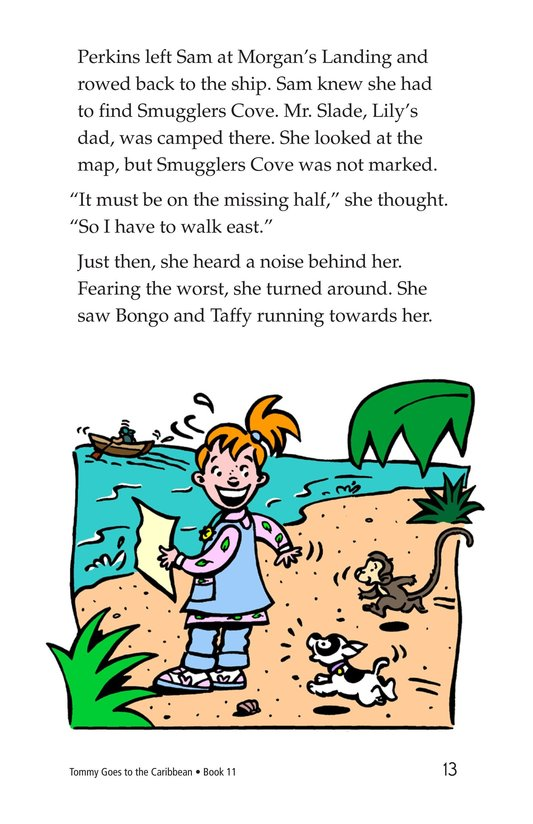 Book Preview For Tommy Goes to the Caribbean Page 13