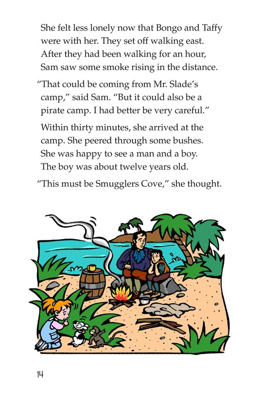 Book Preview For Tommy Goes to the Caribbean Page 14