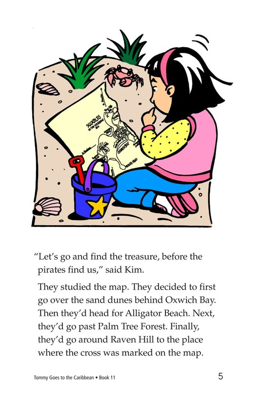 Book Preview For Tommy Goes to the Caribbean Page 5