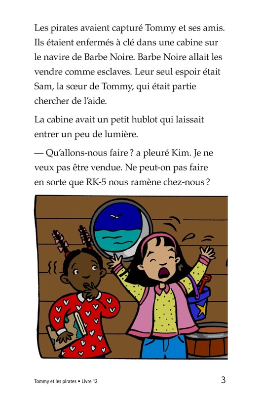 Book Preview For Tommy and the Pirates Page 3